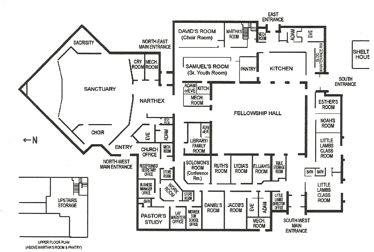 Preschool Room Arrangement Floor Plans Facility Christ The King Lutheran Church